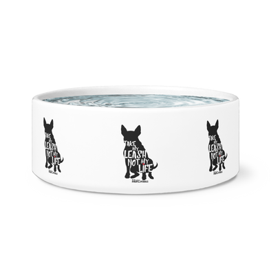 Dog Bowl | Take My Leash Silhouette