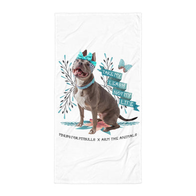 Towel | Arm The Animals x Pinups For Pitbulls