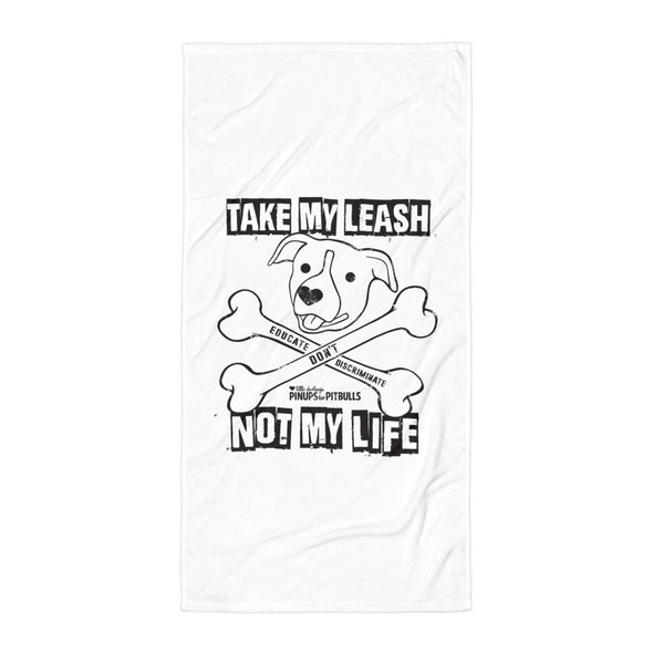 Towel | Educate Don't Discriminate (BAX TO THE BONE)