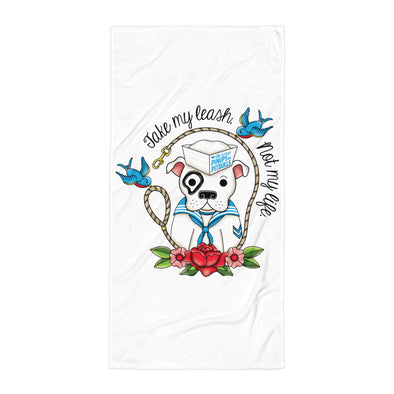 Towel | Take My Leash (Sailor)