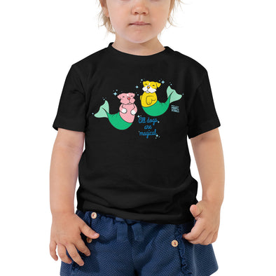 Toddler Short Sleeve Tee | Pit Bull Mermaid | Merbull