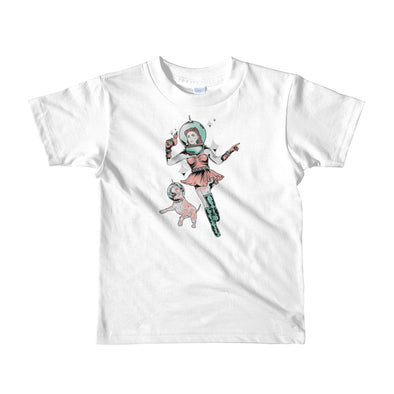 Kids | Space Dog Fly Away | Toddler T-shirt