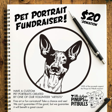 Pet Portrait Fundraiser!