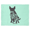 Blanket | Take My Leash Silhouette