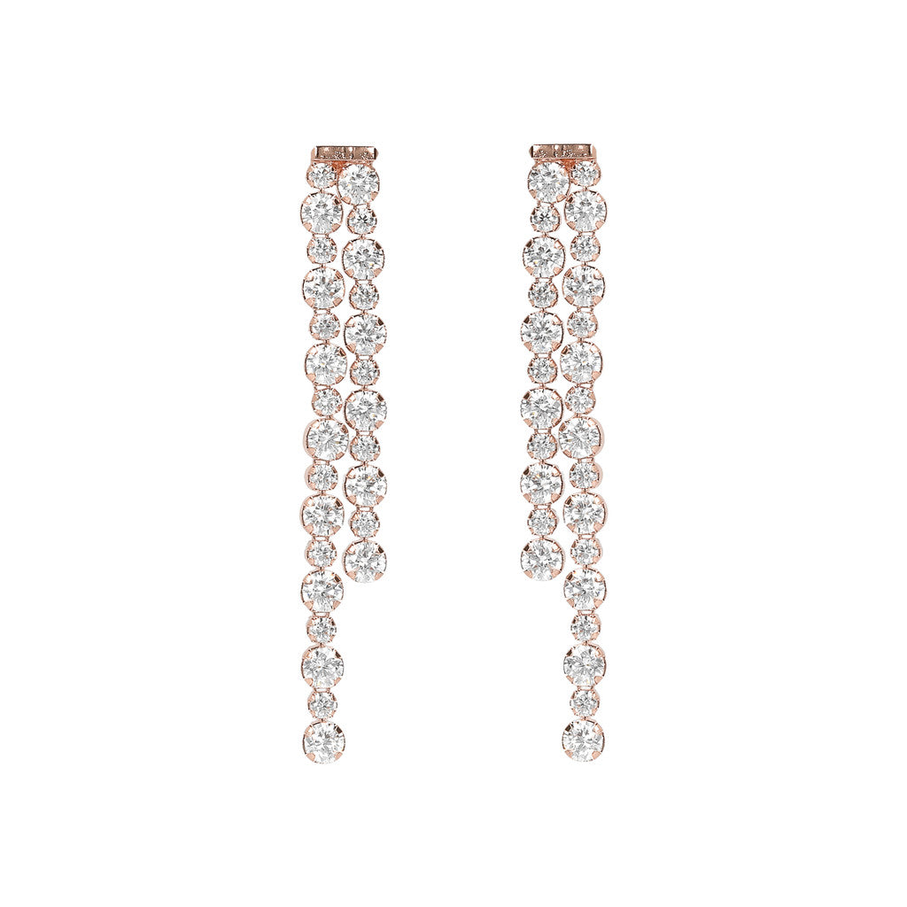 ALTISSIMA ALTERNATE TENNIS GEMSTONE EARRINGS - WSBZ01589