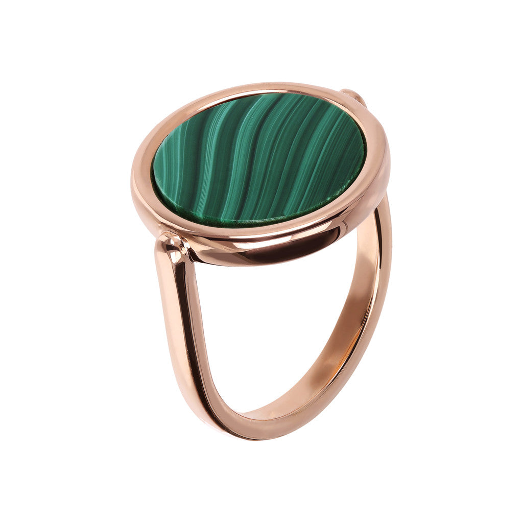 Anello Cosmo Color con MALACHITE