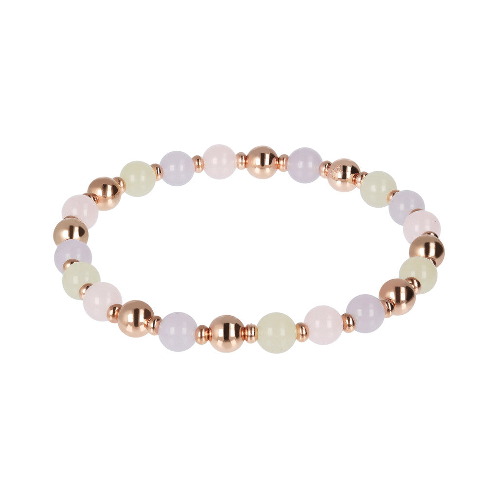 Bracciale Blossom con MULTICOLOR LIGHT QUARTZITE