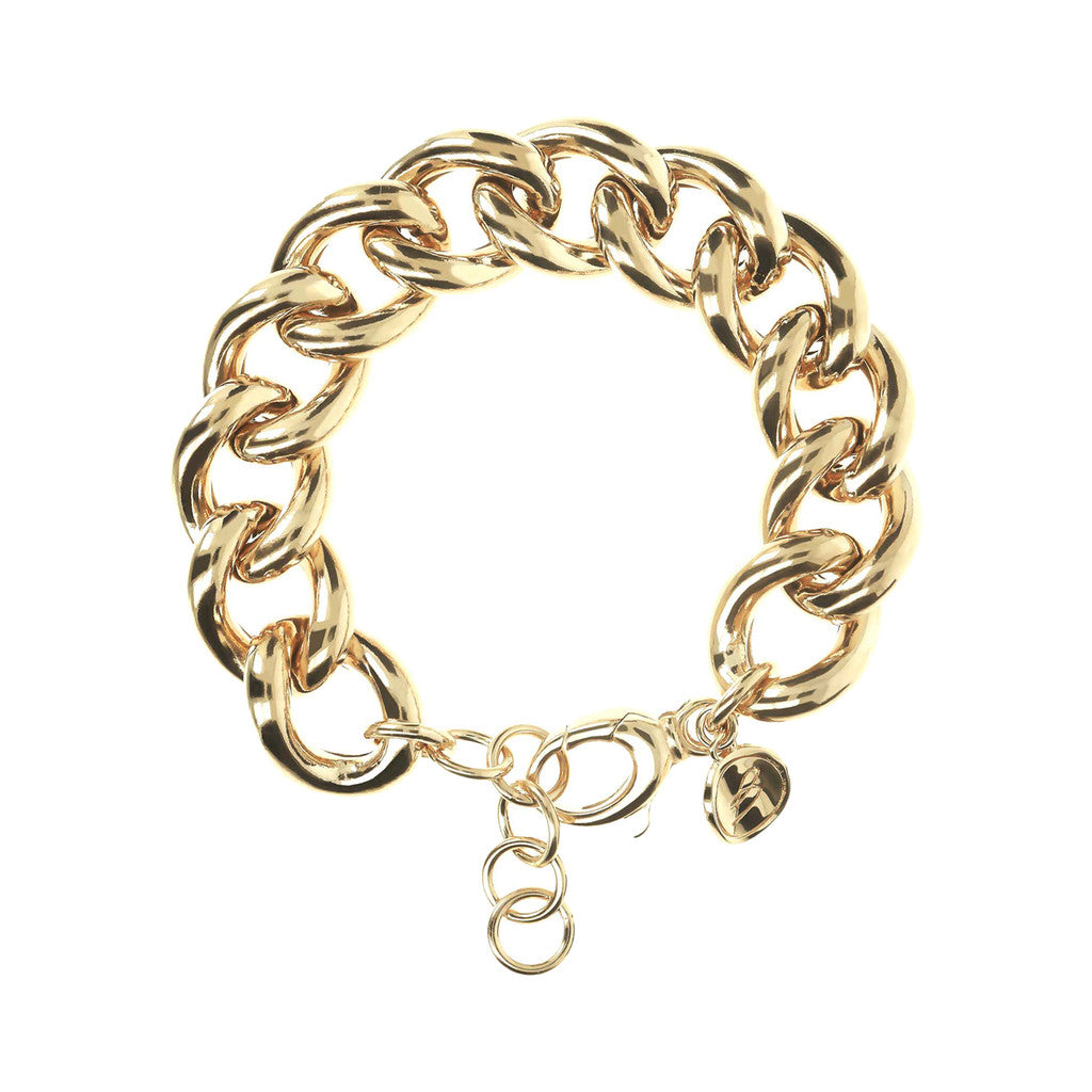 Bracciale a Catena Grumetta Yellow Gold
