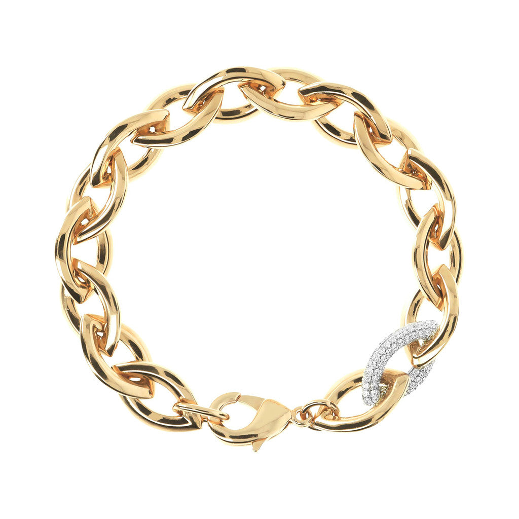 Bracciale Catena Luce Yellow Gold