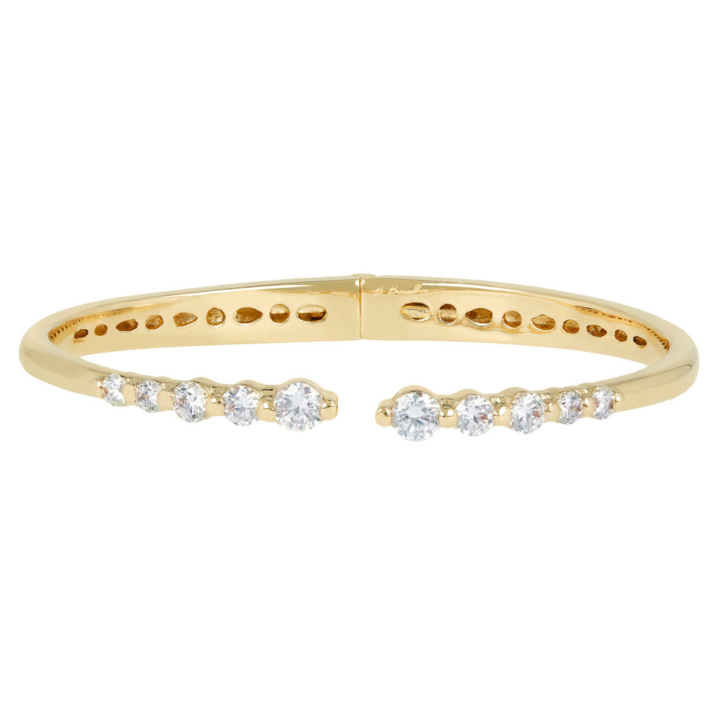 Bracciale Rigido Infinity Yellow Gold