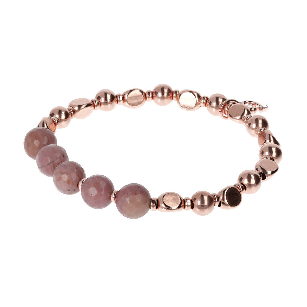 Bracciale Stretch Pietre con RODONITE
