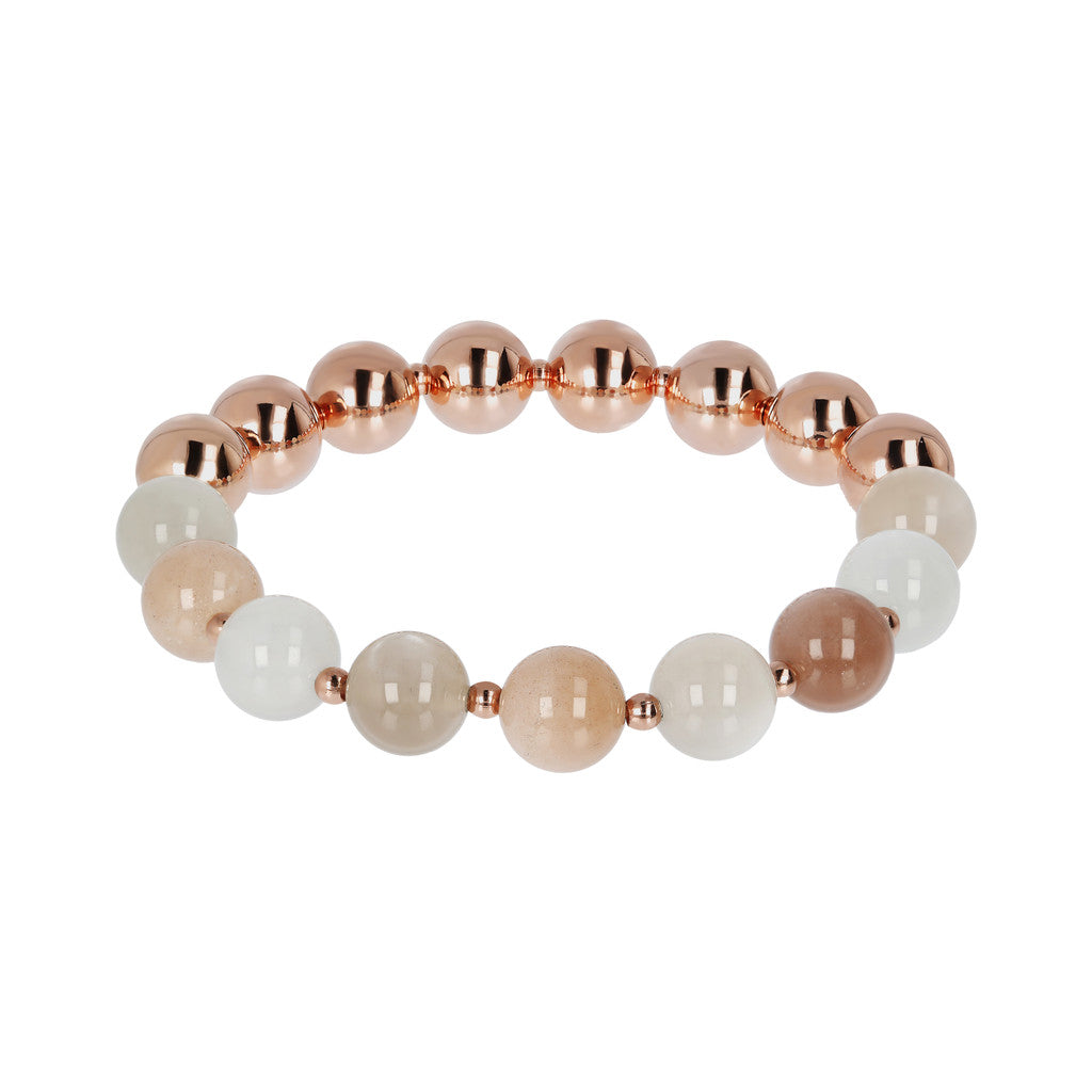Bracciale Stretch Variegata  con MULTI MOONSTONE