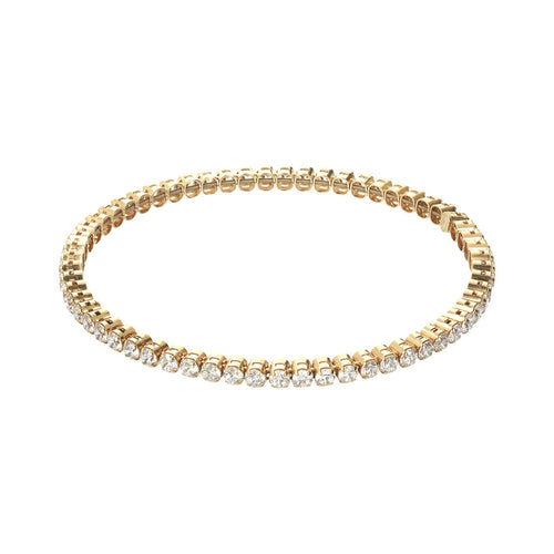 Bracciale Tennis Stretch Yellow Gold