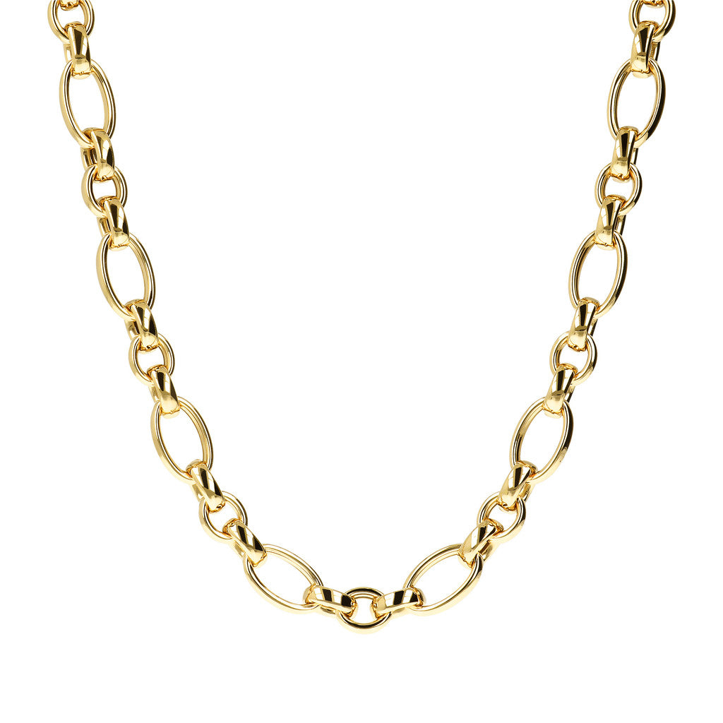 COLLANA LUNGA CON CATENA YELLOW GOLD  intero