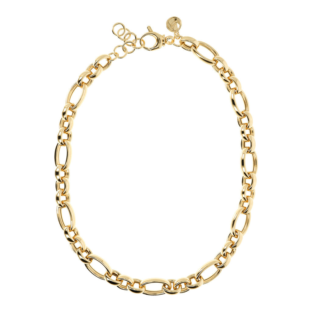 COLLANA LUNGA CON CATENA YELLOW GOLD