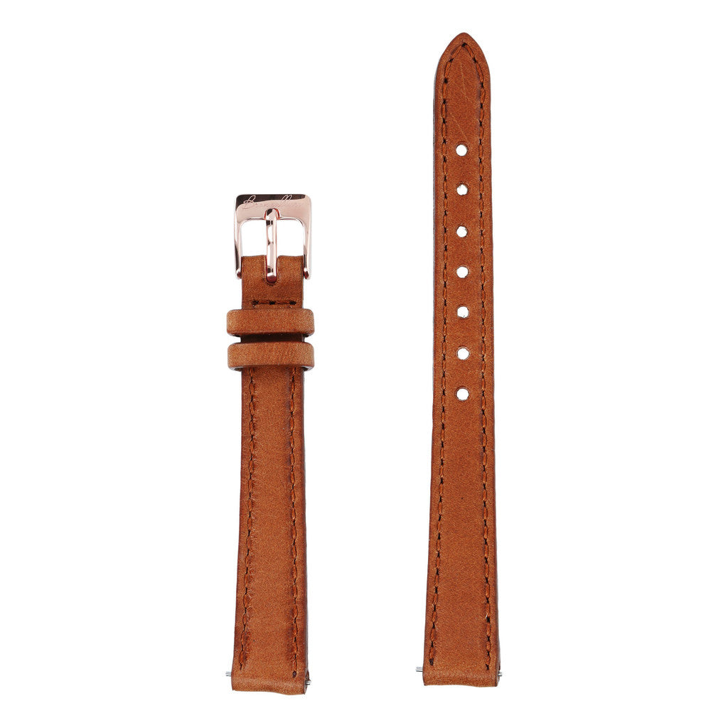 Cinturini Pelle Orologio Donna Alba Piccolo con BROWN LEATHER