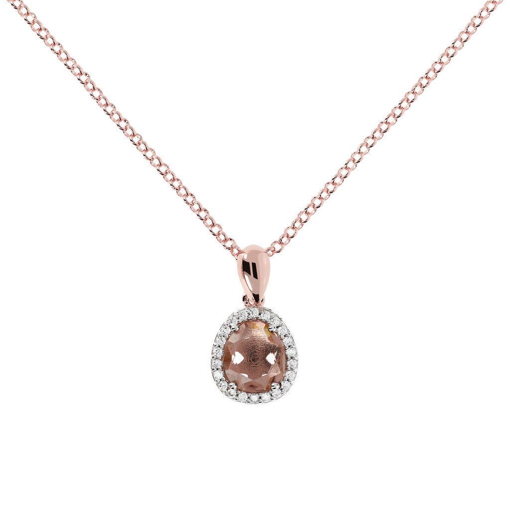 Collana con Pietre con MORGANITE