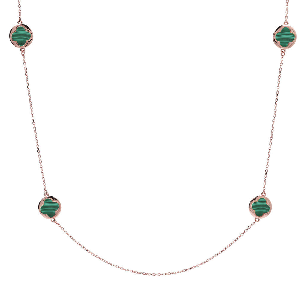 Collana Portafortuna con MALACHITE