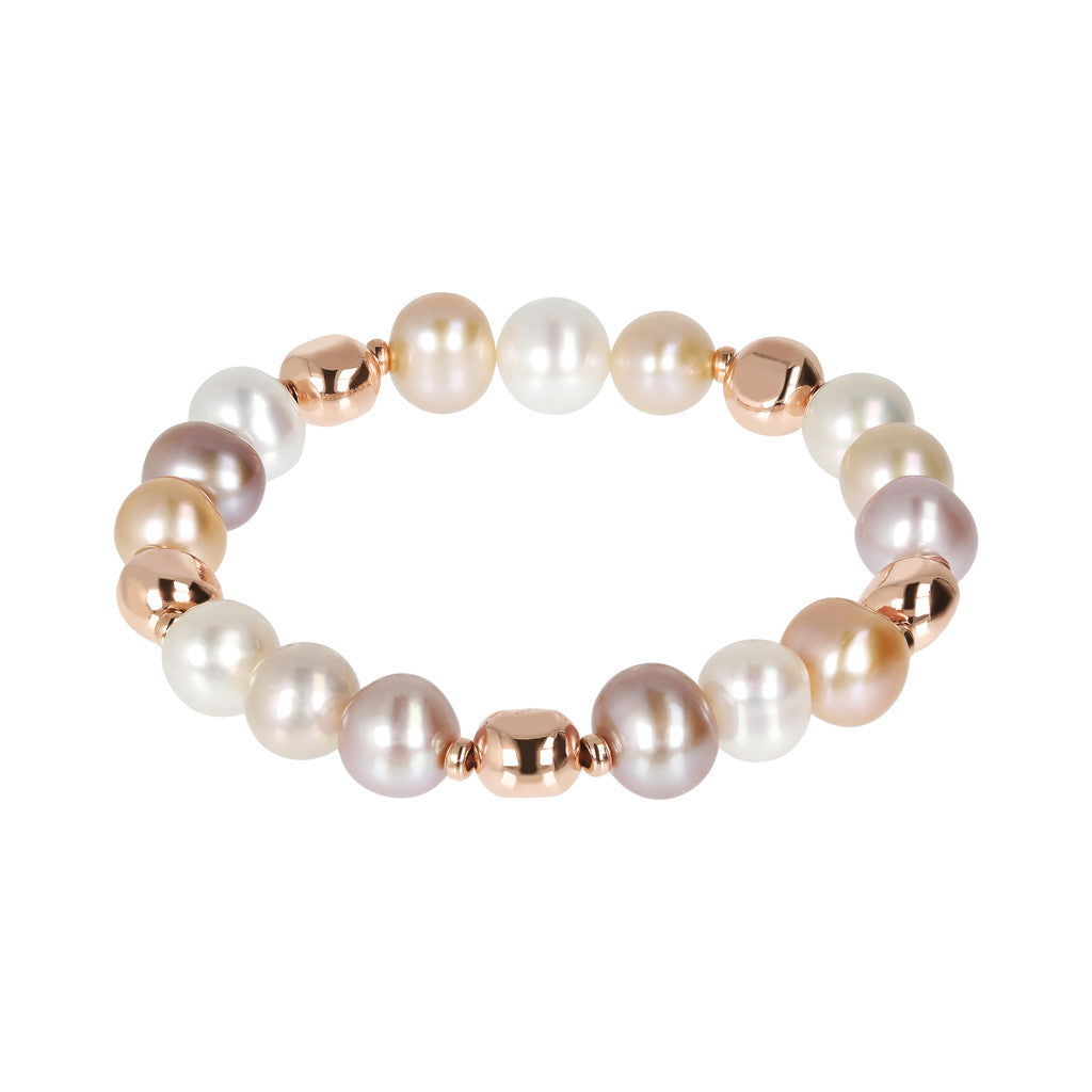 MAXIMA Stretch Bracelets with pearl - WSBZ01698