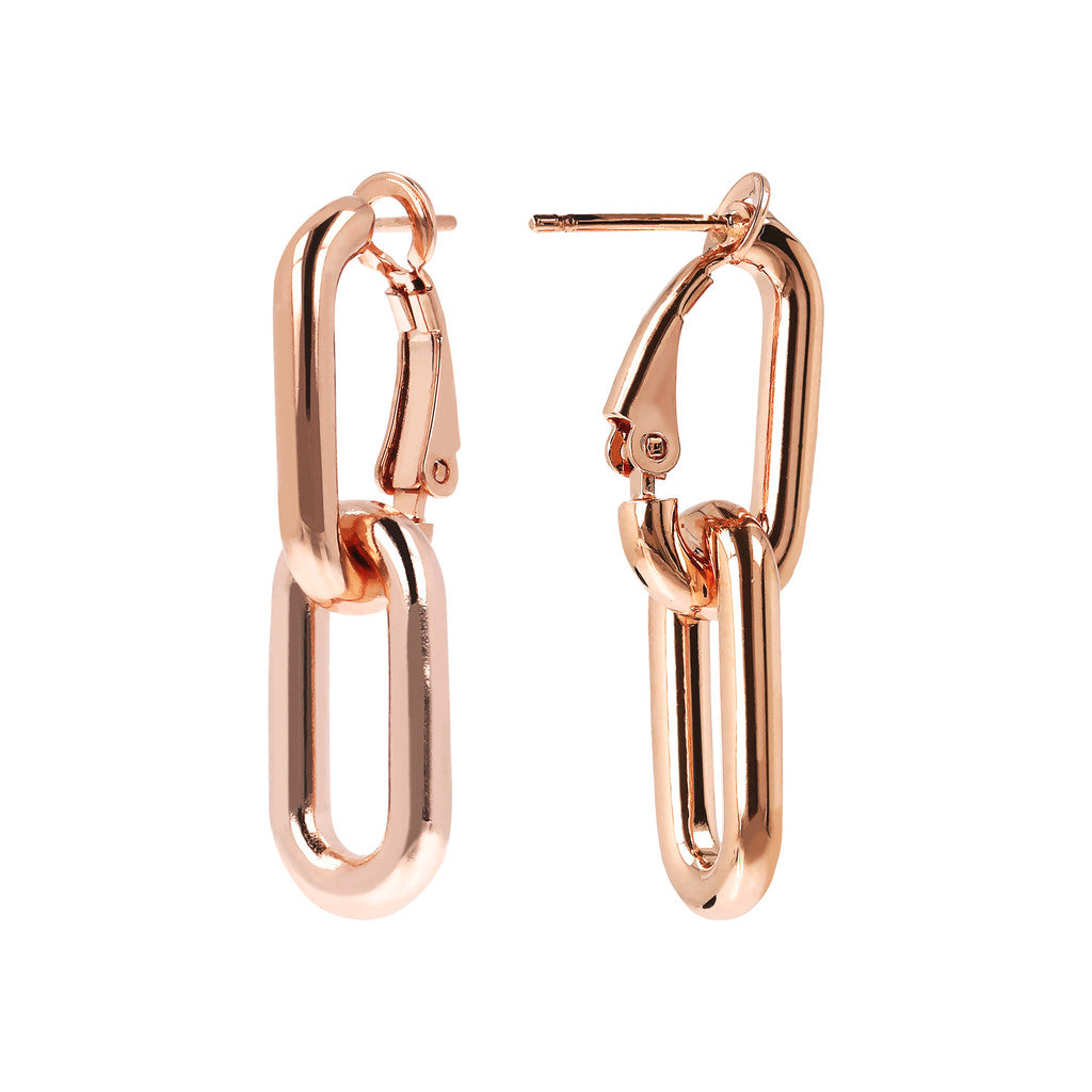 PUREZZA DANGLE EARRINGS - WSBZ01626 frontale e laterale