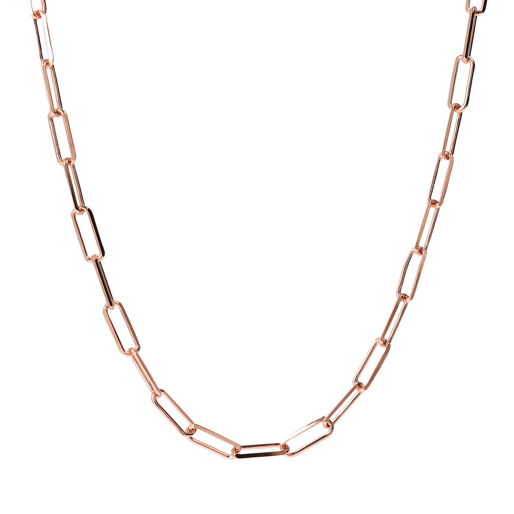 Bronzallure | Collane | PUREZZA LONG LINK DC CHAIN NECKLACE - WSBZ01740