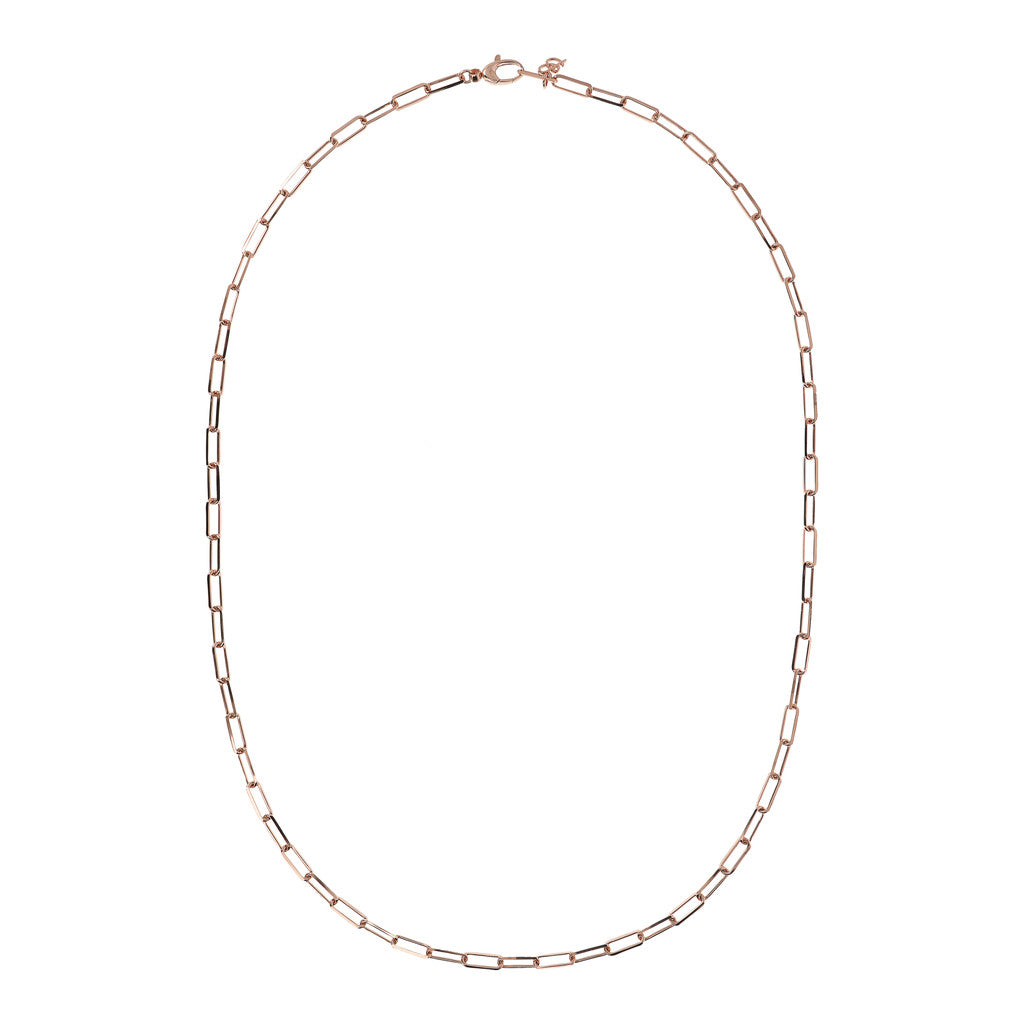 PUREZZA LONG LINK DC CHAIN NECKLACE - WSBZ01740