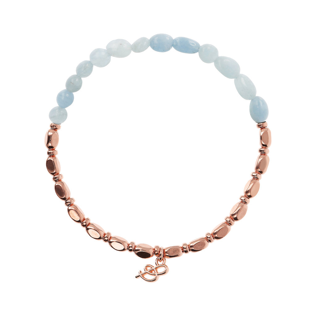 VARIEGATA CHOICE OF GEMSTONE STRETCHABLE BRACELET - WSBZ01655