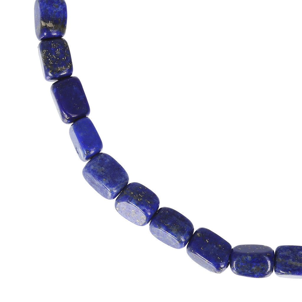 maglia del VARIEGATA CHOICE OF GEMSTONE STRETCHABLE BRACELET - WSBZ01655 con LAPIS