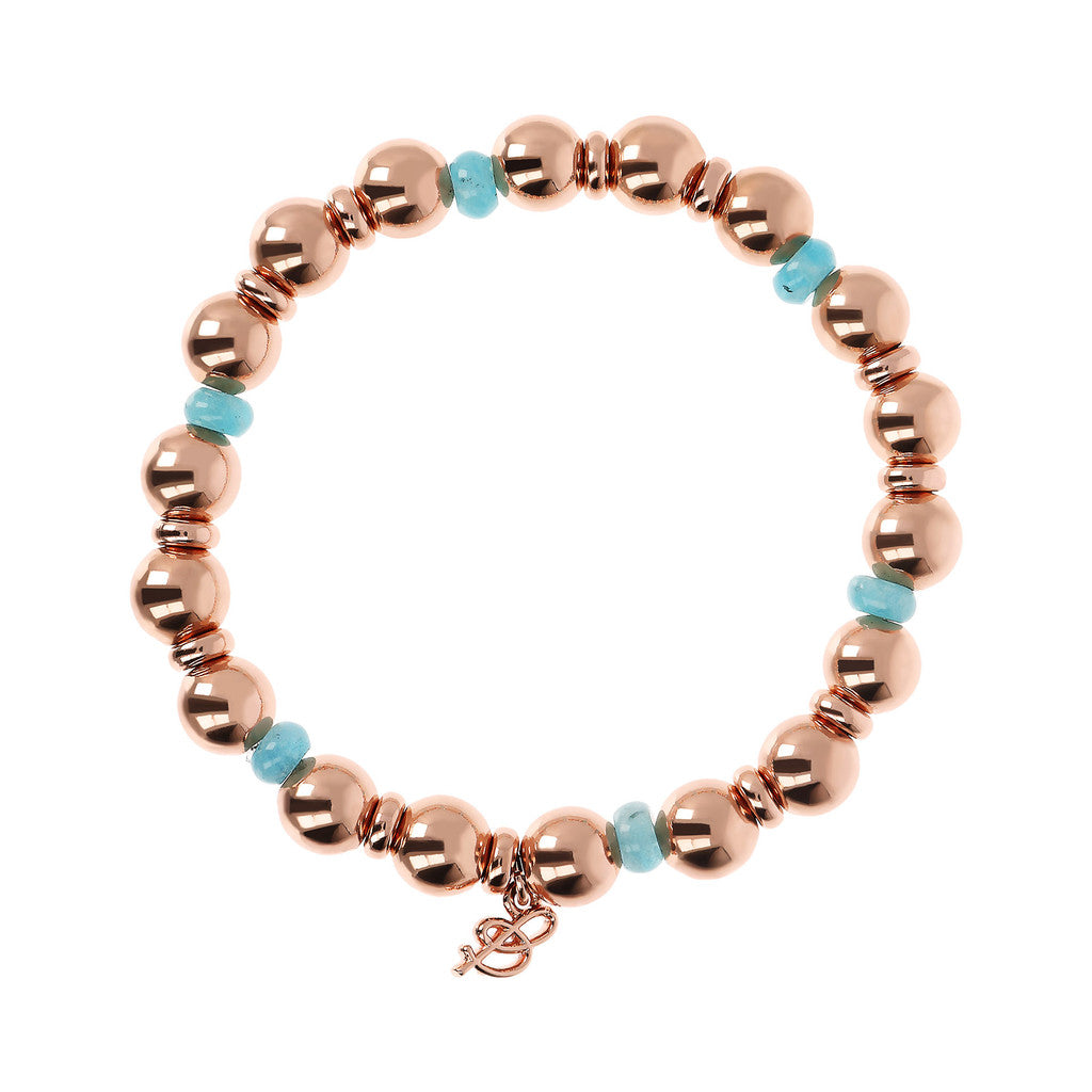 maglia del VARIEGATA STRETCHABLE BRACELET WITH GEMSTONE AND BEADED - WSBZ01798