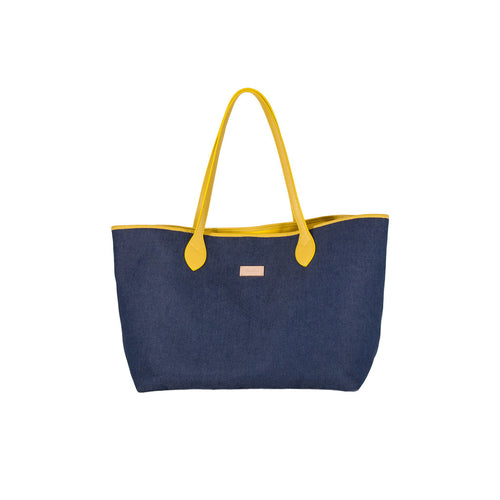 Bronzallure | Accessories | Shopping Bag In Denim Bronzallure