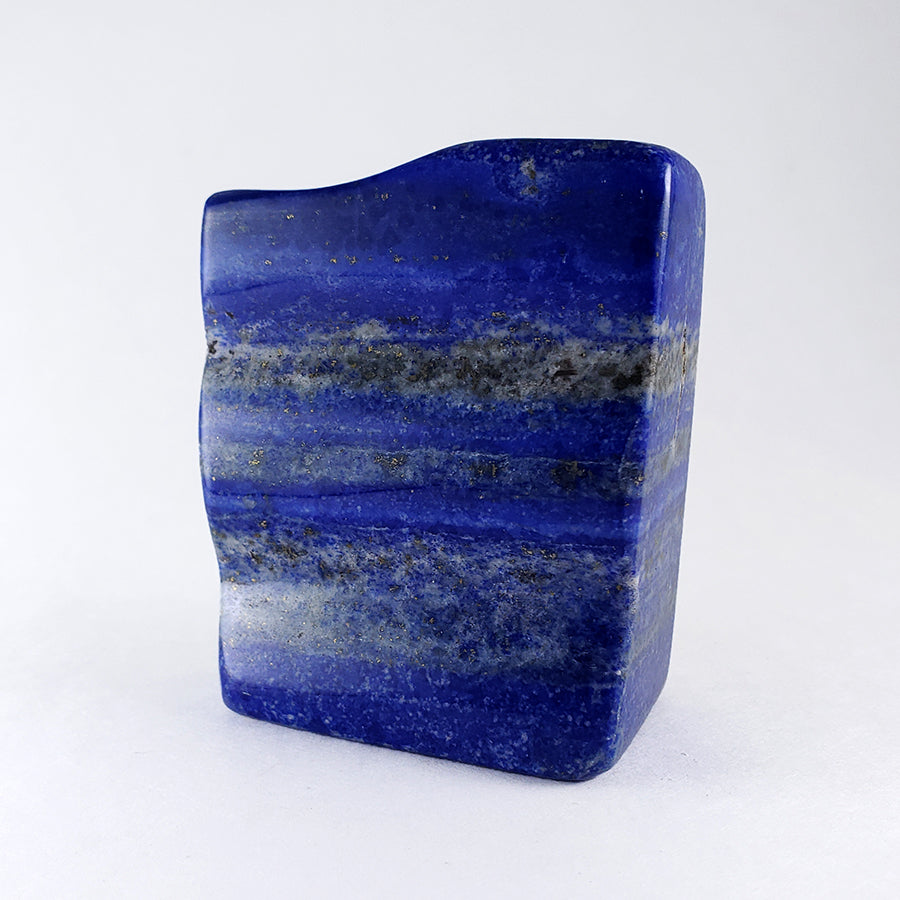 Freeform Polished Lapis Lazuli Carving from Afghanistan