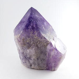 Large Freestanding Polished Amethyst Point from Bolivia