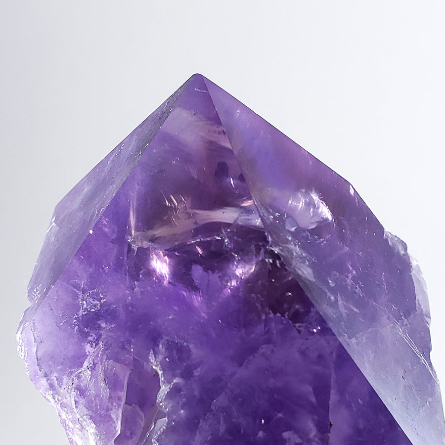 Polished Amethyst Point from Bolivia