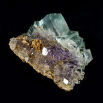 Green and Purple Fluorite Cluster from from Hunan Province China