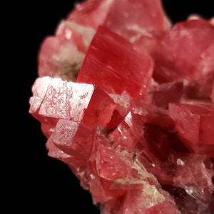 Large Rhodochrosite Cluster from Sweet Home Mine Colorado
