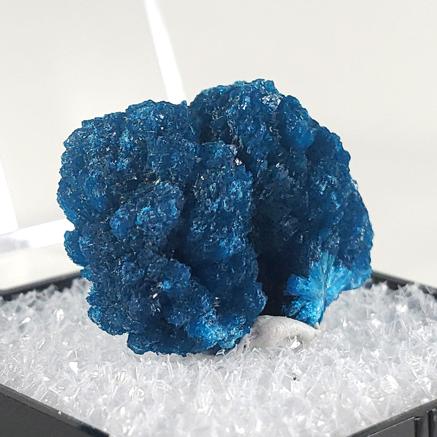 Cavansite Thumbnail Specimen from Wagholi Quarry, Poona, India