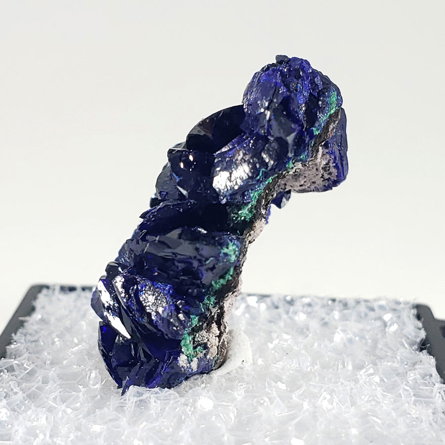 Azurite Thumbnail Specimen from Milpillas Mine, Sonora, Mexico