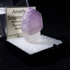 Amethyst Three Quarter View with Label Card