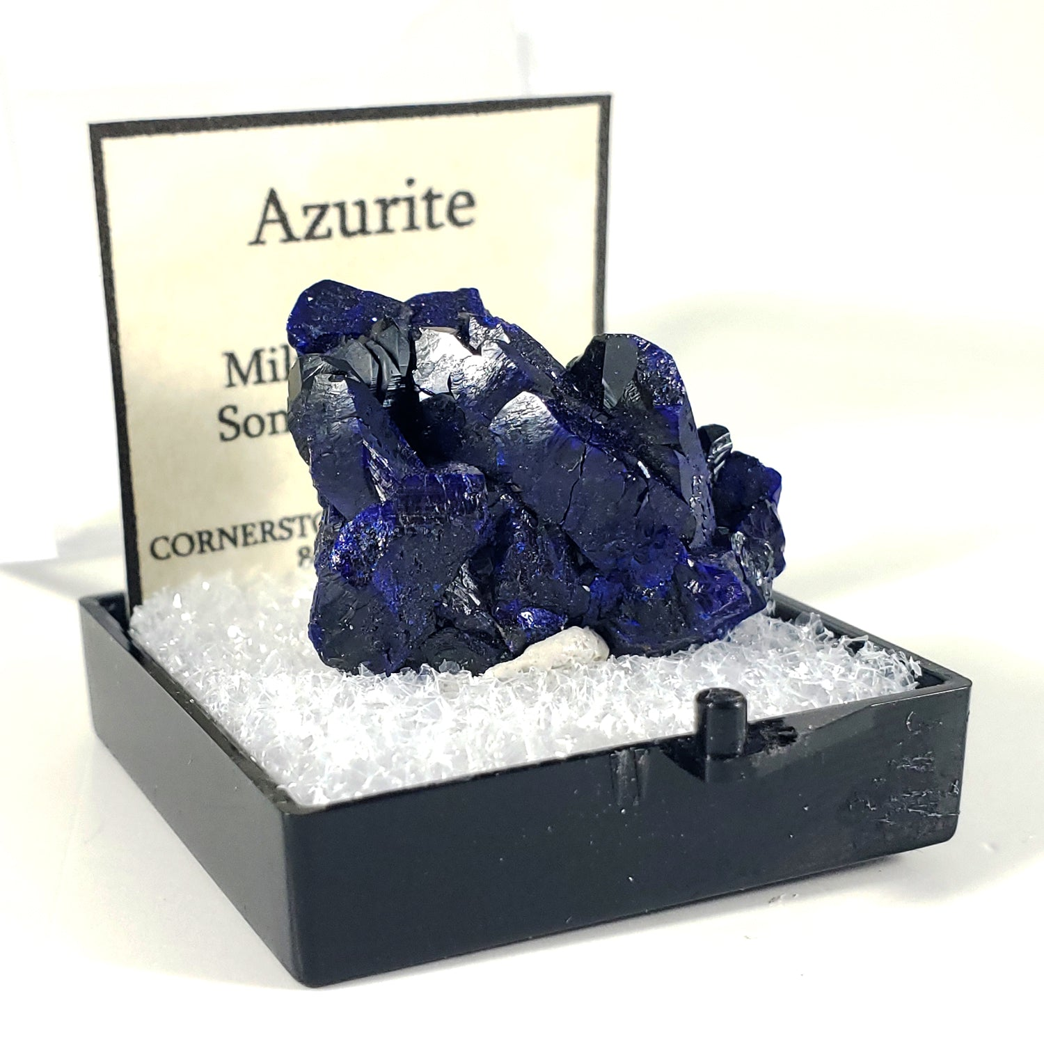 Azurite Thumbnail Specimen from Milpillas Mine, Mexico