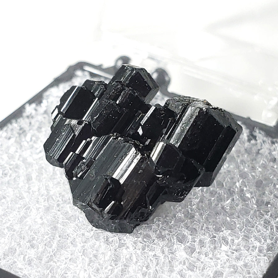 Black Tourmaline 'Schorl' Thumbnail Specimen from Erongo Mountains, Namibia