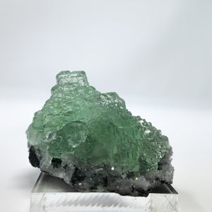 Green Fluorite from Huang Sha Bao Mine, Hunan Province, China