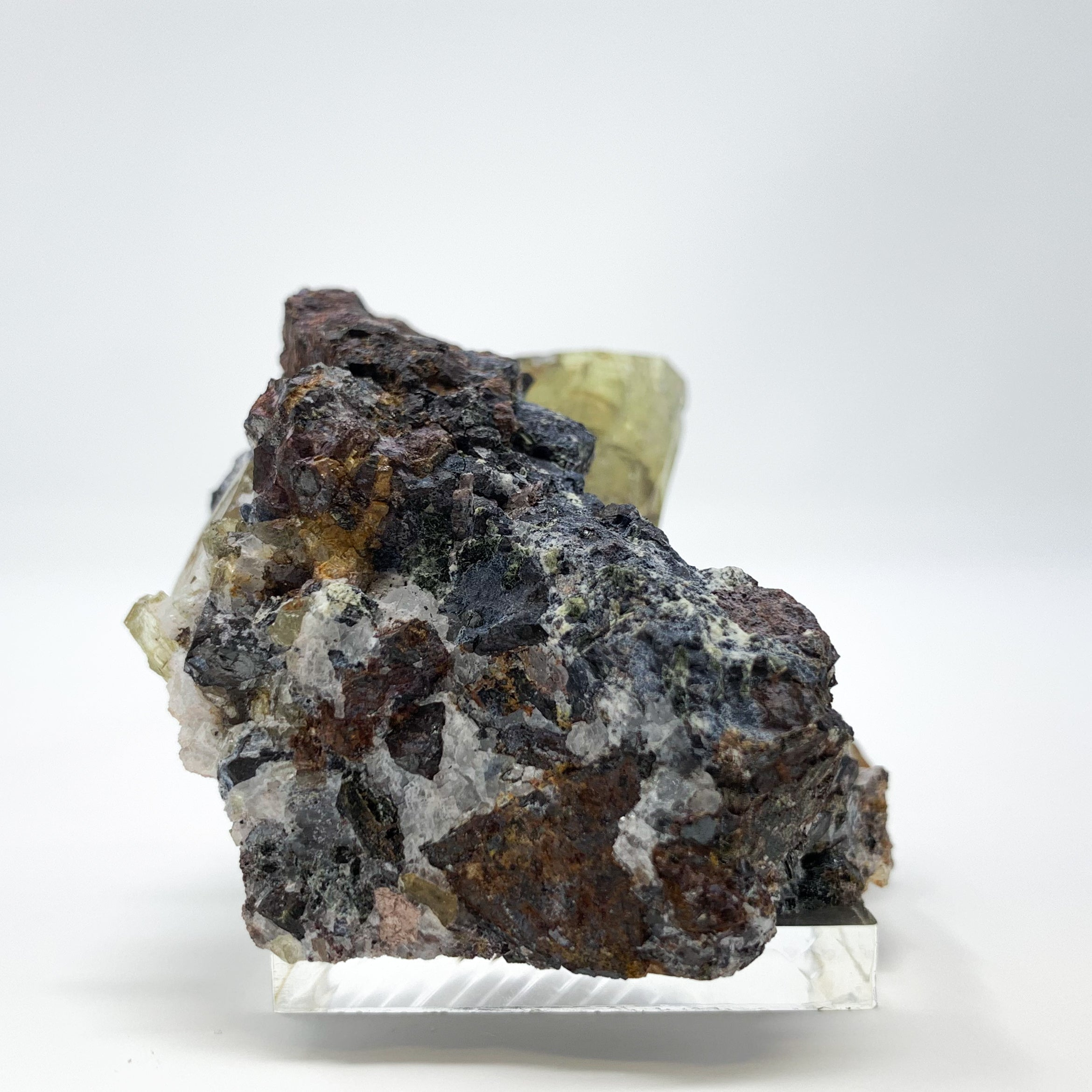 Fluorapatite from Cerro De Mercado Mine, Durango, Mexico