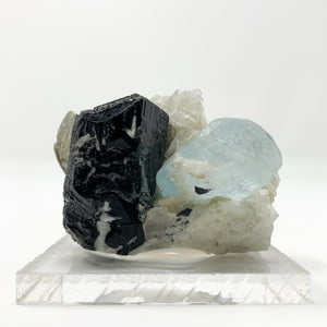 Aquamarine, Schorl, Muscovite from Skardu, Shigar Valley, Pakistan