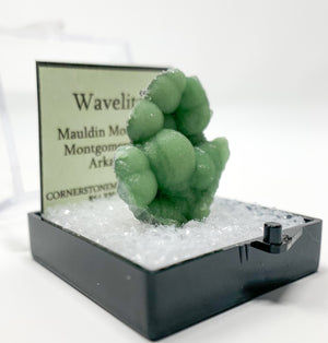 Wavelite Thumbnail Specimen from Mauldin Mountain, Montgomery Co., Arkansas