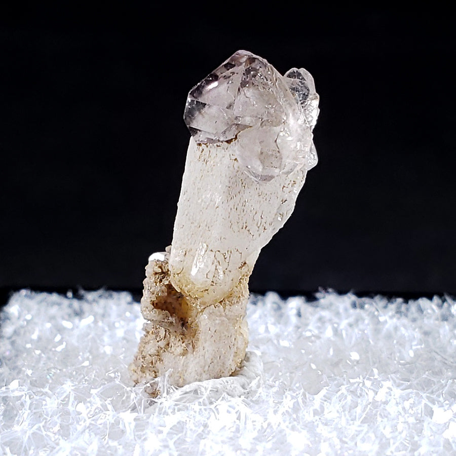 Amethyst Scepter Calipuy Peru - Left Side