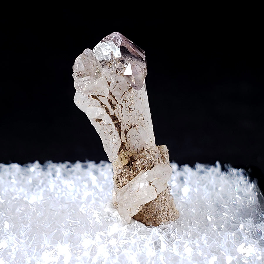 Amethyst Scepter Calipuy Peru - Right Side