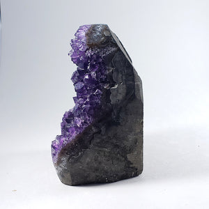 Carved Amethyst Geode from Uruguay
