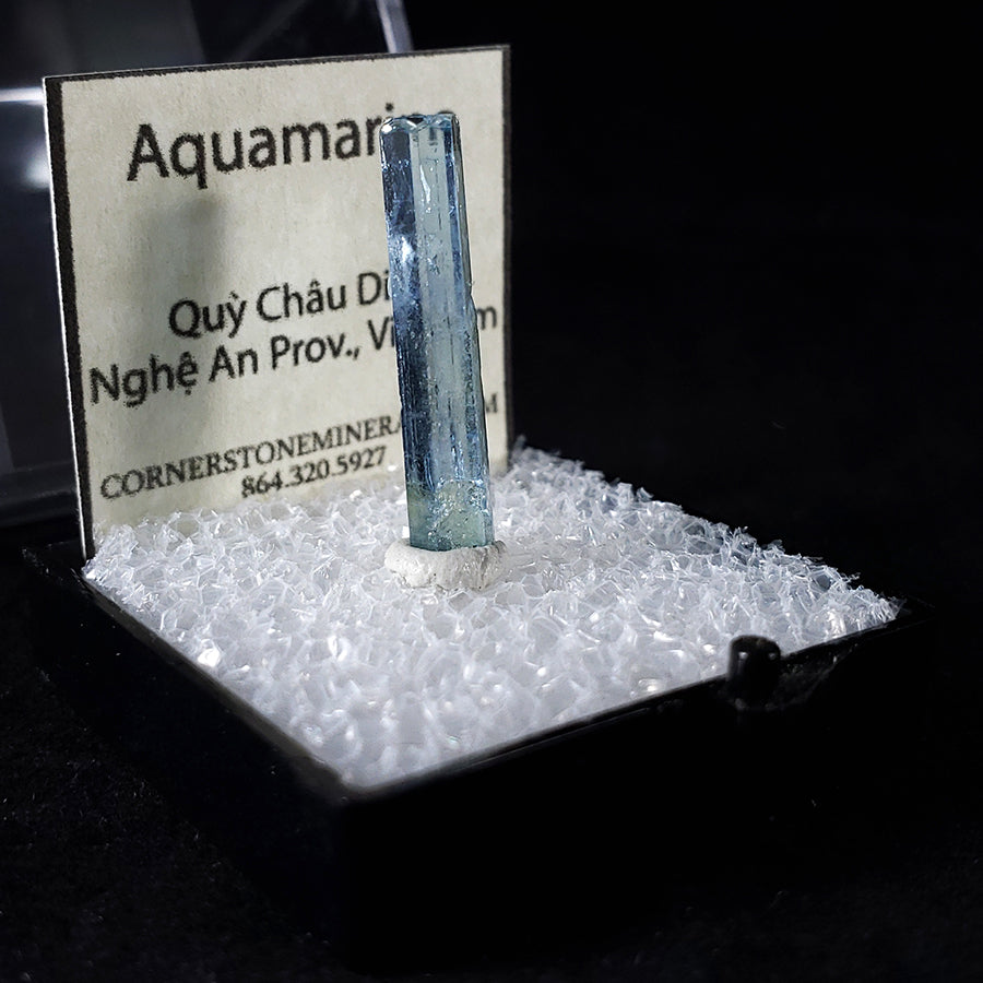 Aquamarine Thumbnail Specimen from Nghe An Province, Vietnam