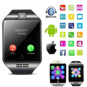 Newest Q18S Smart Wrist Watch compatible with Samsung,Xiaomi huaiwei,IPHONE. Android,ios Smartphones iPhone