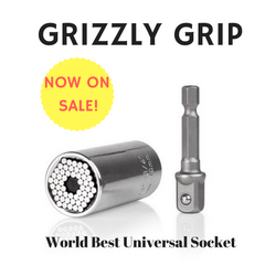 Grizzly Grip - The World's Best Universal Socket Set